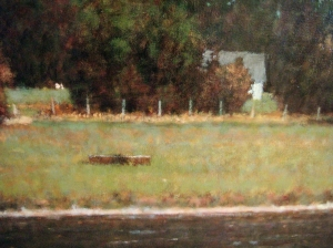detail from 'Autumn on the Housatonic'