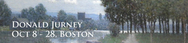 Oct 8-28, Donald Jurney: Recent Works, Boston Gallery