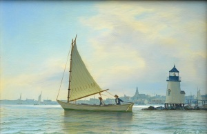William Davis - Afternoon Sail Nantucket Harbor