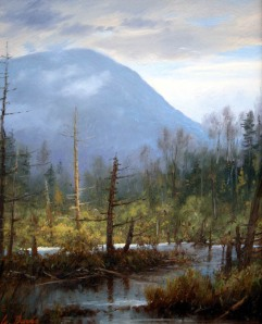 William Davis - Marshview towards Mt Willard - 10 x 8