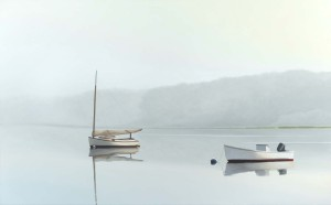 "Jim Holland ""Morning Haze"" 33 x 53"