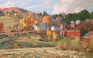 TM Nicholas - Road to Waterville - 8 x 12