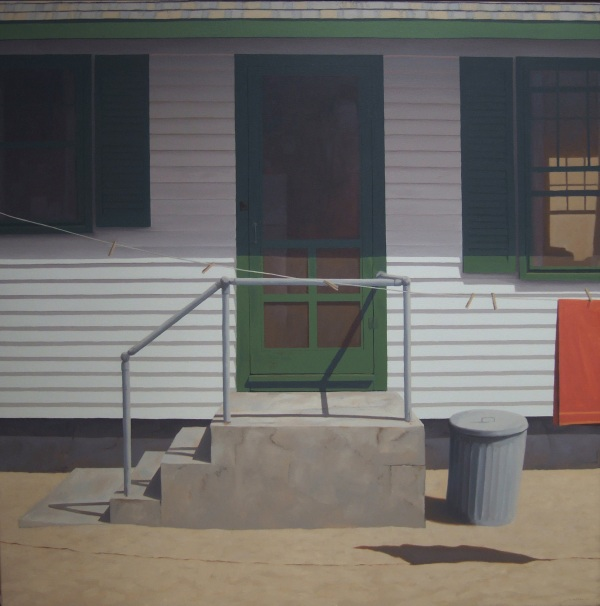 Jim Holland - Clothesline - 36 x 36""