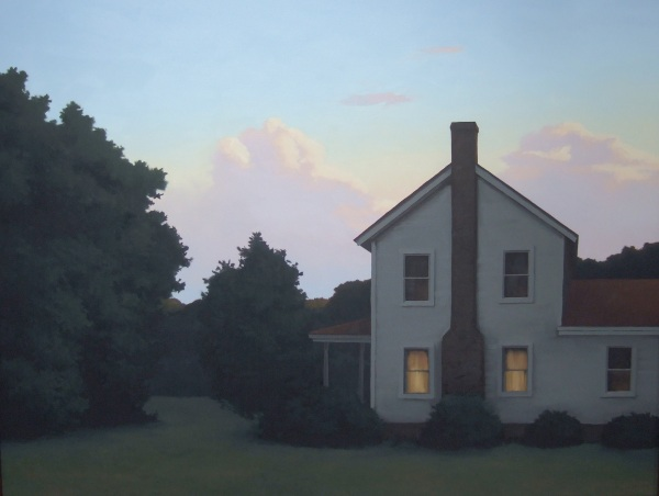 Jim Holland - Twilight Farmhouse