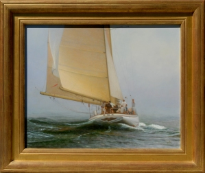 """Nantucket Sunshine"" oil on panel"
